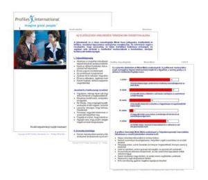 Profiles - kompetencia - rátermettség
